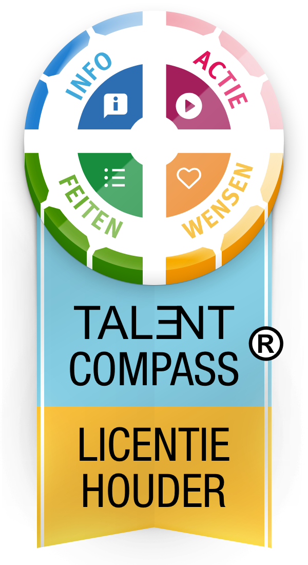 Label Talentcompass Licentiehouder